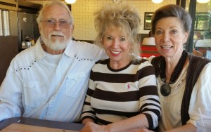 Bob, Rebecca, Jo-Ann,  Still in love after 59 Years of marriage!